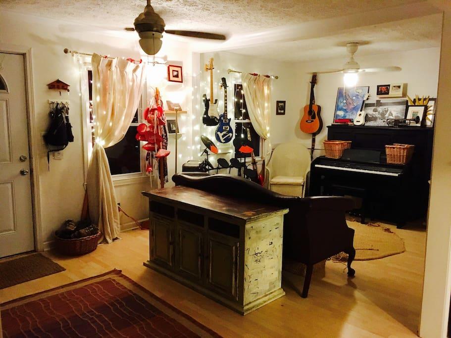 Music Room/ Living Room