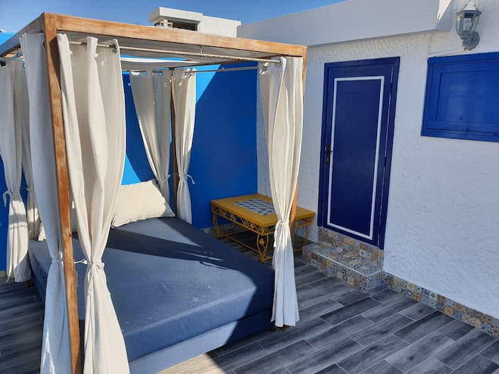 Full equiped cosy flat best taghazout view&confort