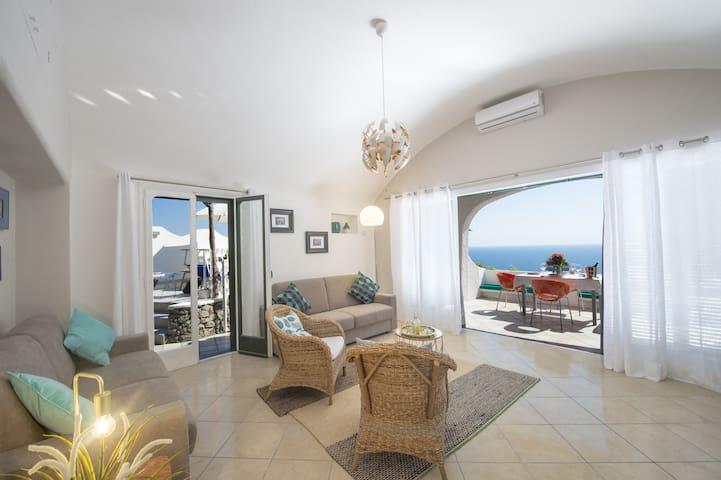 Casa Giovannina - Large panoramic patio