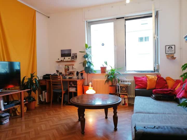 Schöne helle 2-Zimmer-Wohnung+Balkon bei Frankfurt