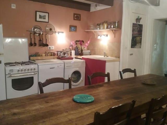Ma maison dans les gorges du Tarn - Quézac - Haus