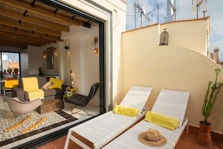 Las Terrazas de la Ciudad Vella Penthouse - 巴塞罗那 - 公寓