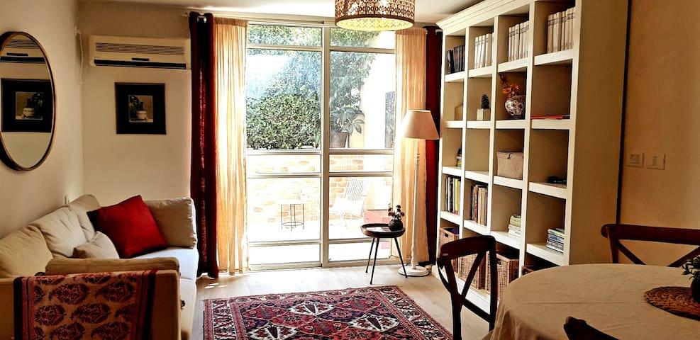 Beautiful two bedroom duplex garden apartment