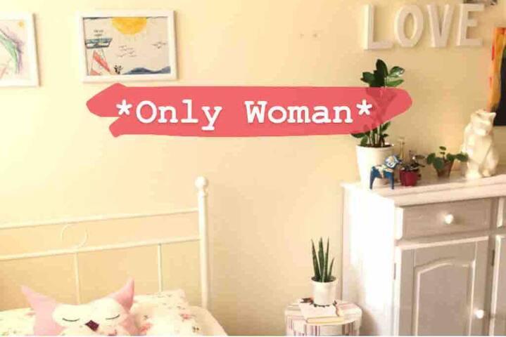 Helles Zimmer für Frauen