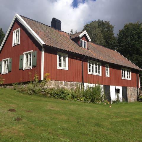 Vacker Skånelänga,  Kvesarumssjön - Hörby - Casa