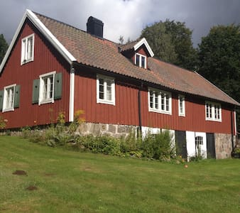 Vacker Skånelänga,  Kvesarumssjön - Hörby - Haus