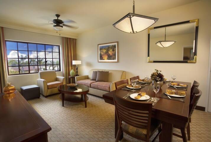 1 bedroom, 1 bath, Full Kitchen at Marbrisa Resort