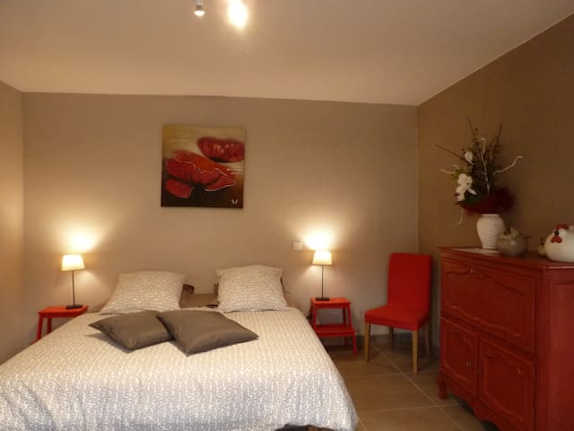 Double room-Comfort-Ensuite-Countryside view-RDC