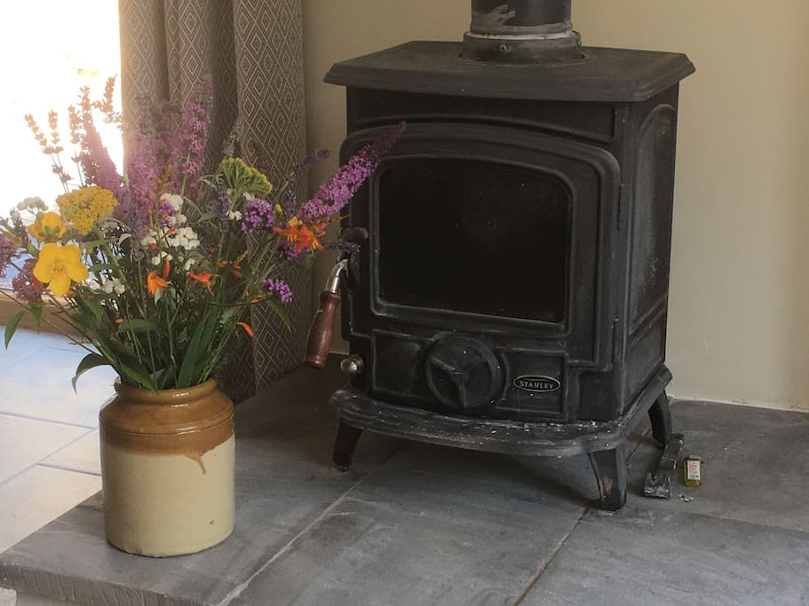 Wood burner, first basket of wood supplied free of charge