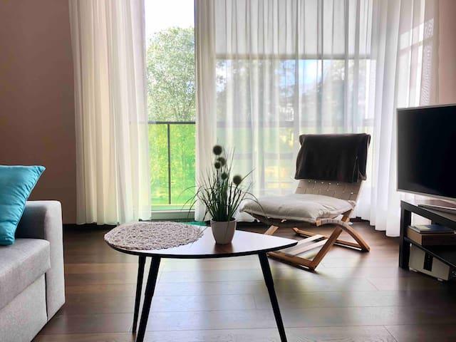 Cozy hub in superb location & modern house!