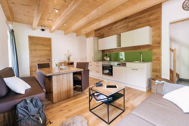 Ferienwohnungen Orth (Göstling an der Ybbs), Ferienwohnung 1 Die Grüne, modern und hochwertig ausgestattet