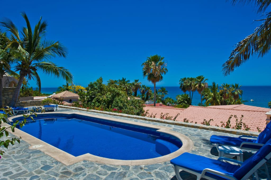 Pool with Stunning Views of Sea of Cortez