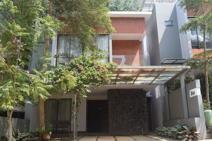 ALINDA Type Level - Rumah dengan nuansa alam