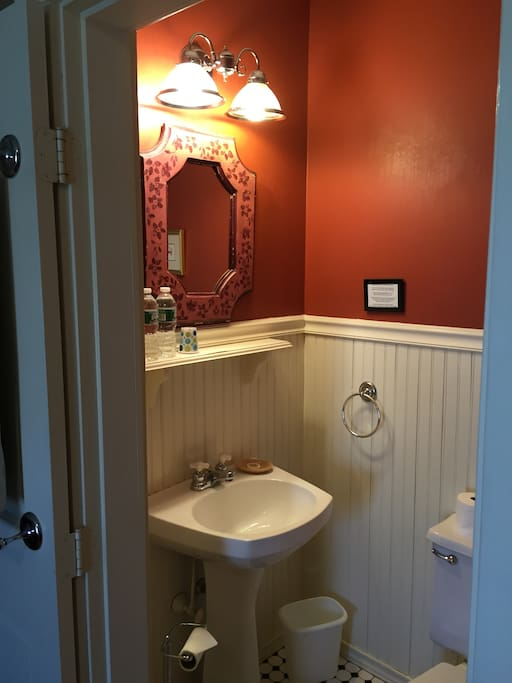 Bathroom in Taupe (has shower)