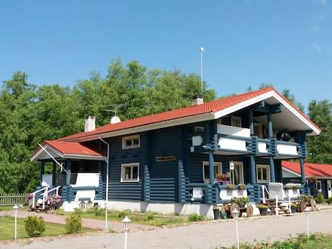 Villa Kuusalu (log house)rent entire house 177m2