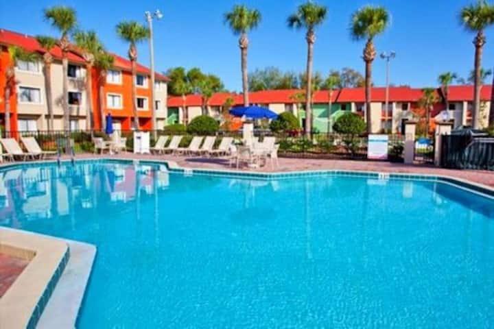 Two-Bedroom Villa At Legacy Vacation Club Resort!