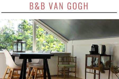 B&B Van Gogh near Amsterdam, Zaanse Schans, beach