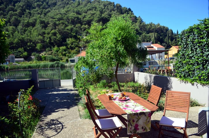 Character house by the river Neretva