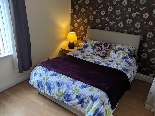 Quiet double room in Barnoldswick