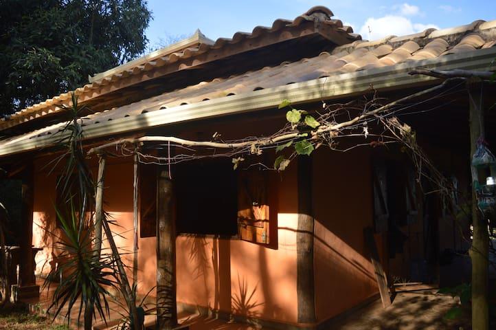 Casa magica Itatiaia-Casa no mato-QUARTO SOLTEIRO