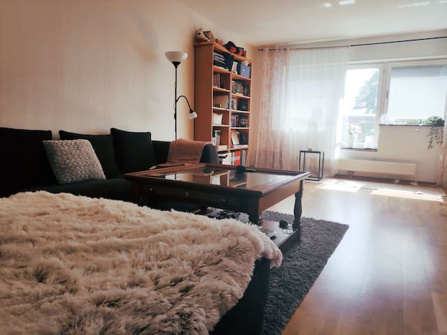 68m Cozy apartments sofa 15min away from centre