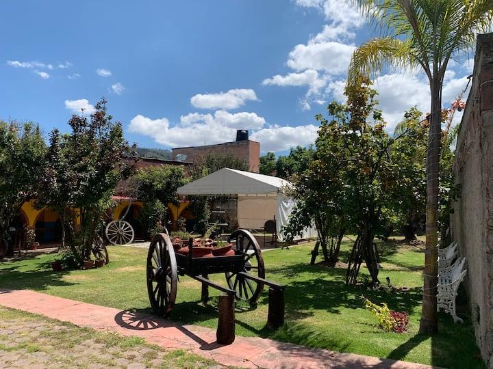 Casa de Campo para descansar en familia.