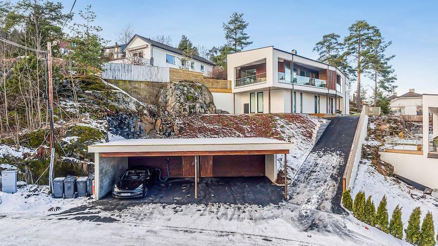 Luxury 3 bdr house - walk to train station