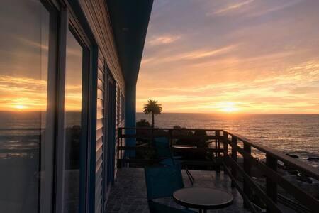 Bahía Luz - Habitación 8 con terraza vista al mar