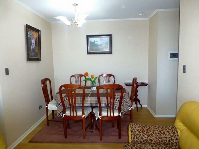 Hermoso y acogedor apartamento - Coronel - Pis