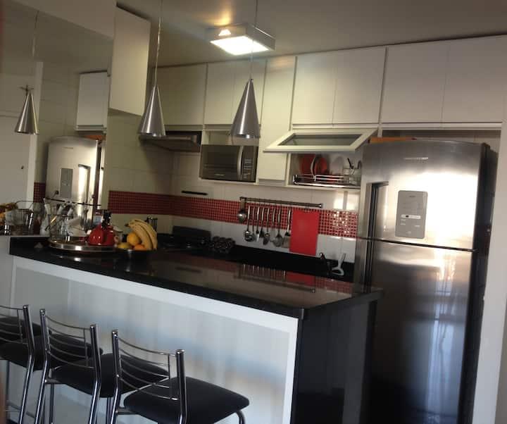 Apartamento Clean Mobiliado SP