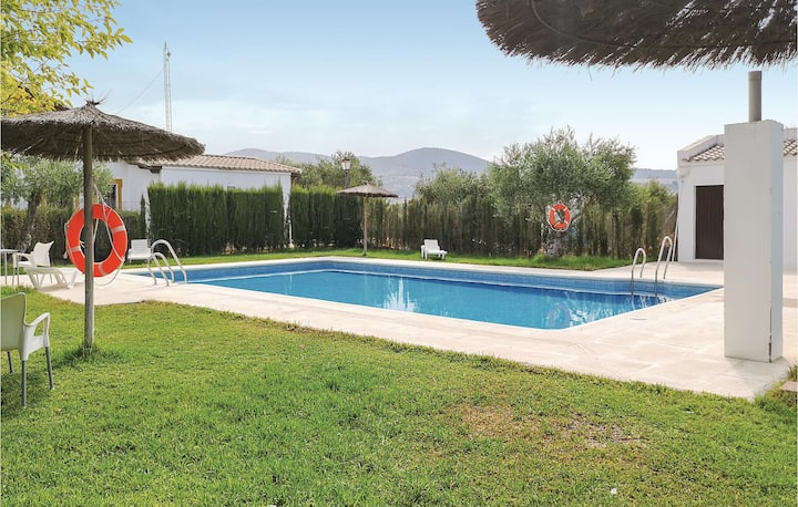 Holiday cottage with 2 bedrooms on 40m² in Puerto Serrano