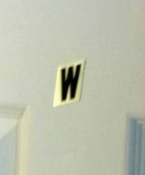 this is the Name of your room, W