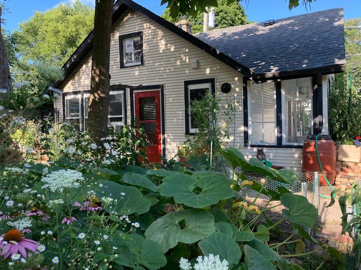 Cottage in a Garden