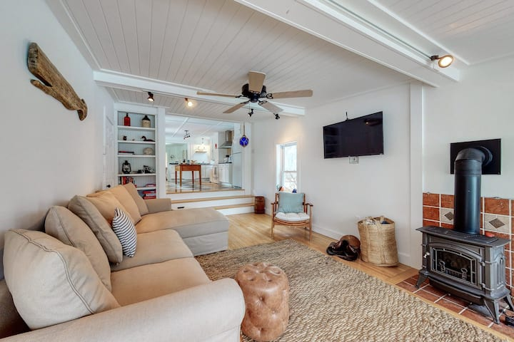 Historic Dog-Friendly Home near the Beach w/Updated Amenities, Patio, & Grill!