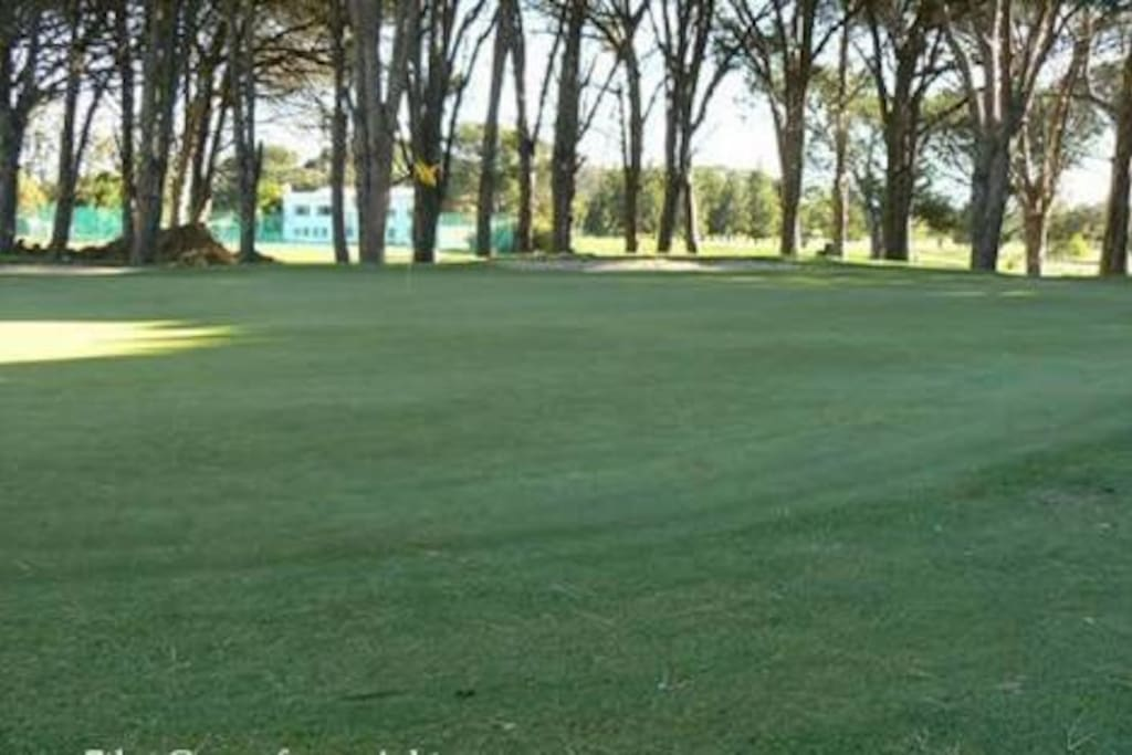 The Golf course is being Somerset west Golf club is 5 minutes from our home.
