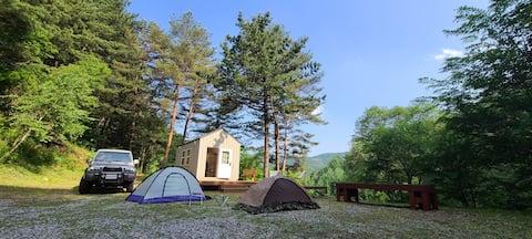 숲속의 작은집🏕  단독사용 캠핑장 및 TinyHouse사용 오로지 한팀