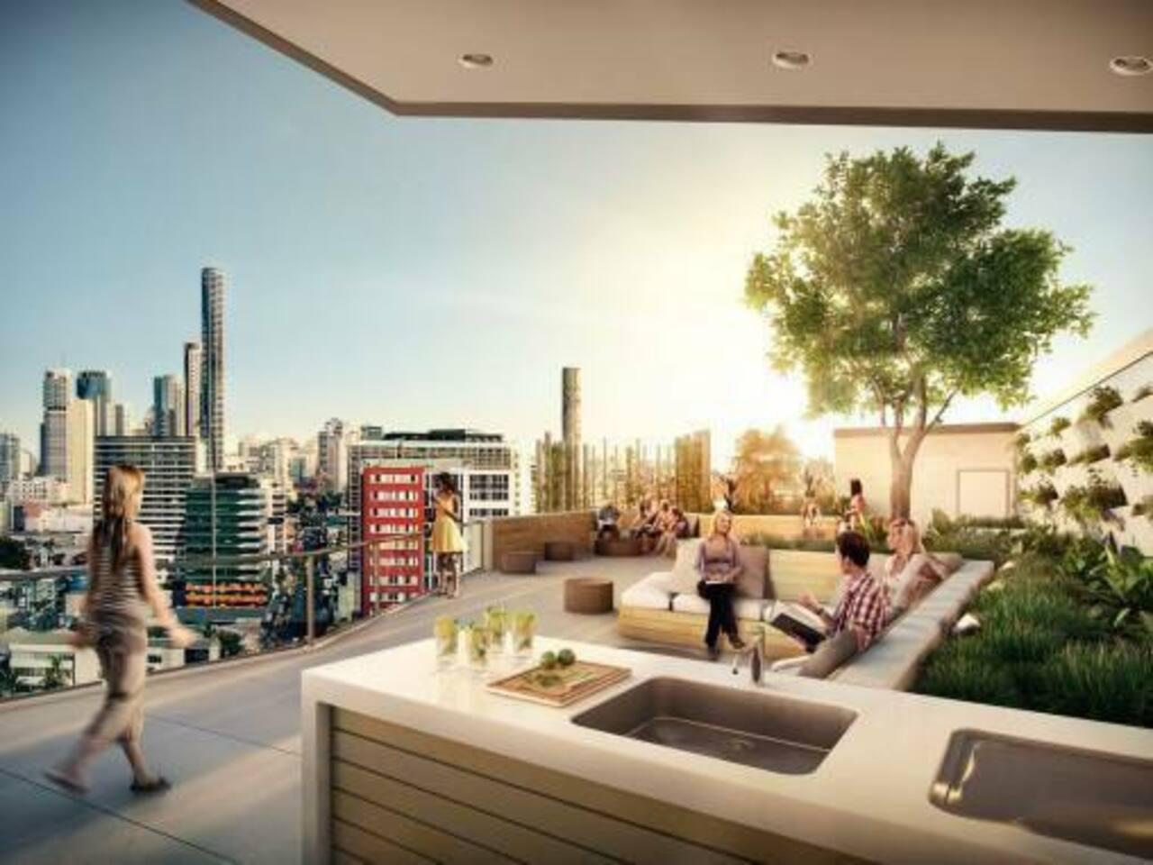 Rooftop BBQ Terrace