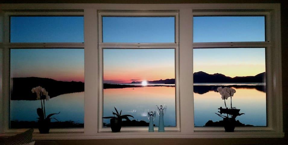 Hus på Strønstad,between  Lofoten/Vesterålen. - Strønstad - House