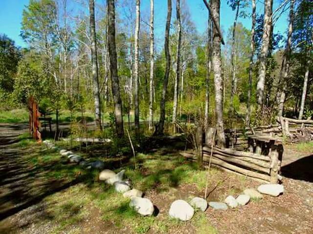 Eco-Cabañas , capacidad; 4 adultos y 2 niños