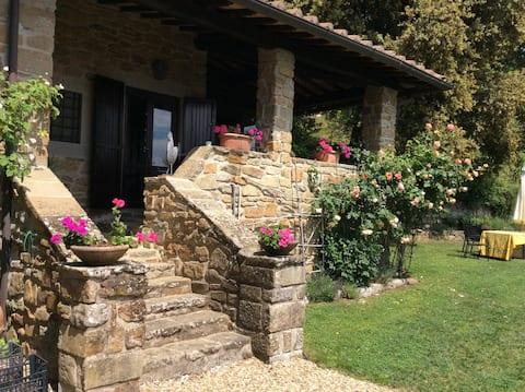 La Terrazza - Rustic Apartment, terrace and pool