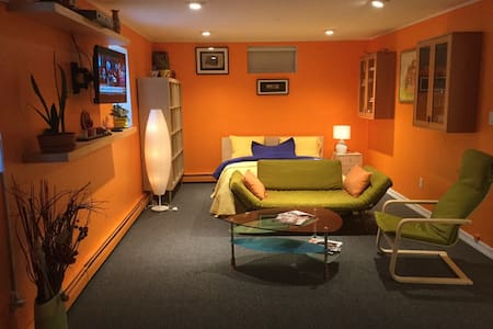 Private appartment,minutes from NY citi. Fantastic loc ation, walking distance to manhattan ferry. - Стейтен-Айленд