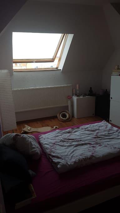 Privatzimmer 2 mit Doppelbett