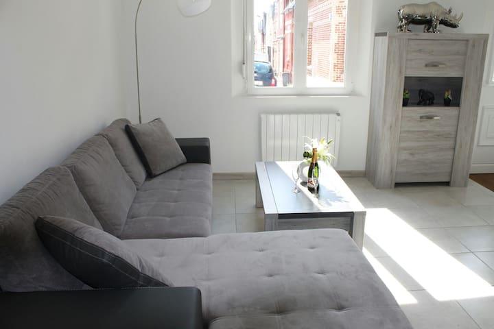 """logement de qualité """"gîte gloria"""" - Saint-Quentin"""