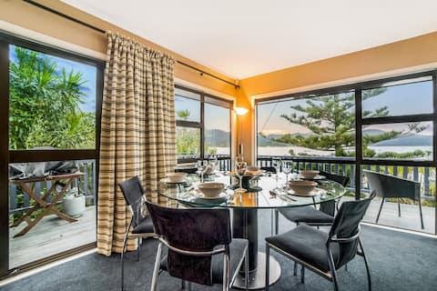Beachfront Bliss ~ Upper Deck Apartment