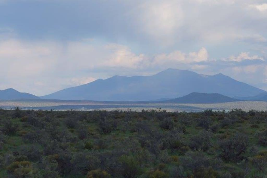 The Gorgeous San Francisco Peaks From Property