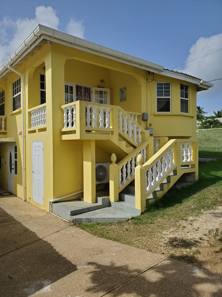 Charming authentic Bajan apartment