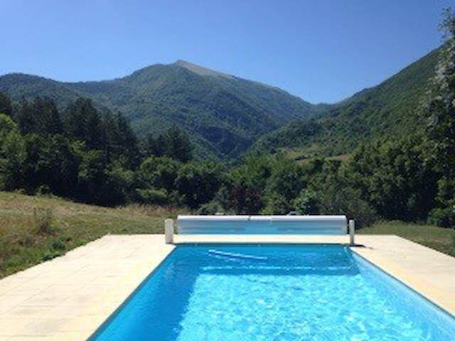 Adorable maison avec piscine privée - Bourdeaux - Casa