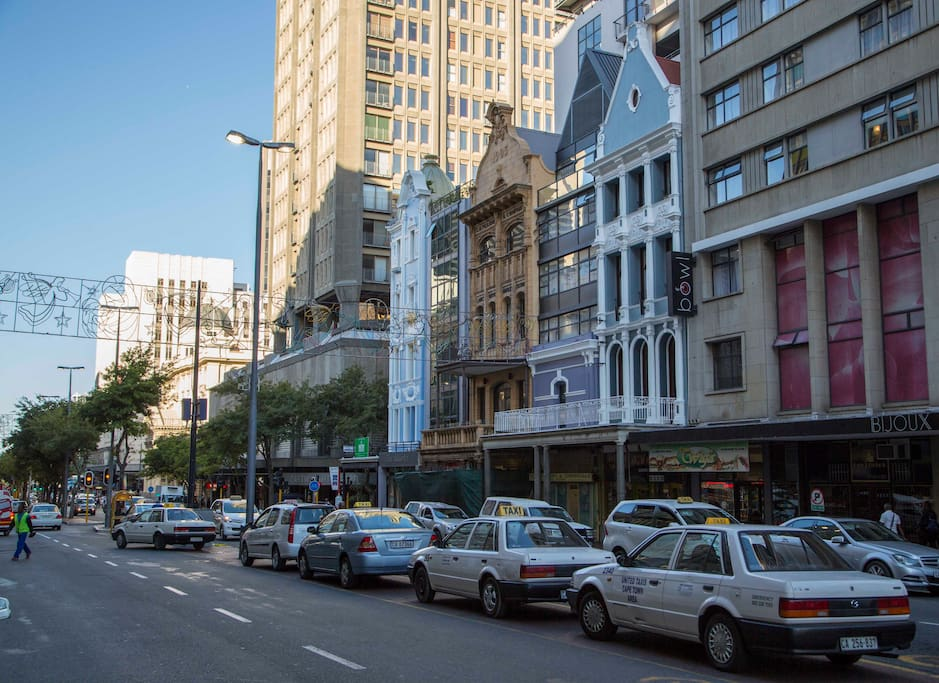 Welcome to Adderley Street, Cape Town!
