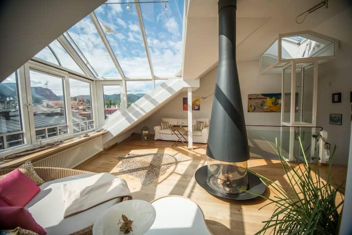 Über den Dächern von Bad Reichenhall