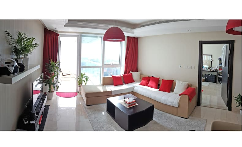 1 BR City & Sea view 48th floor corniche-pool gym - Abu Dhabi - Appartement